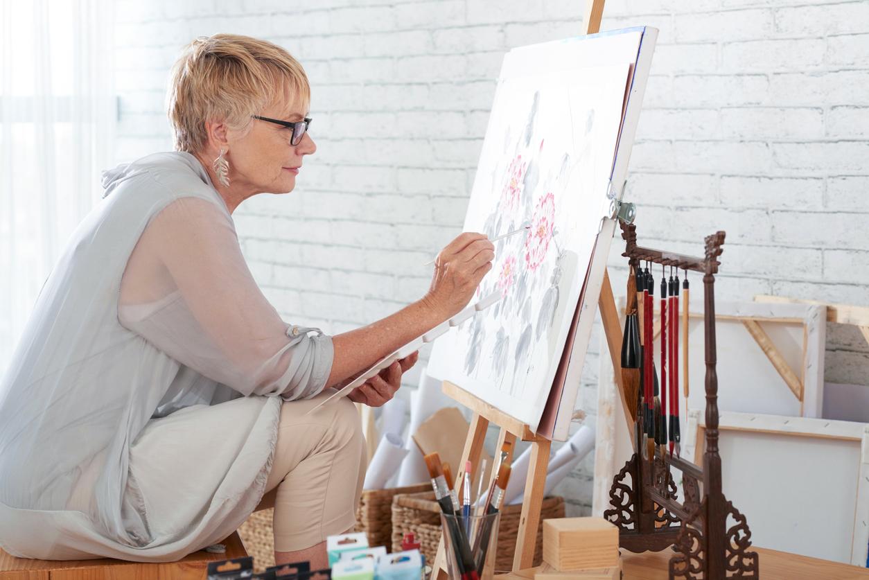 peinture en autodidacte