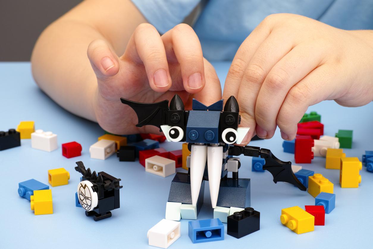 Faites-lui ranger ses LEGO !