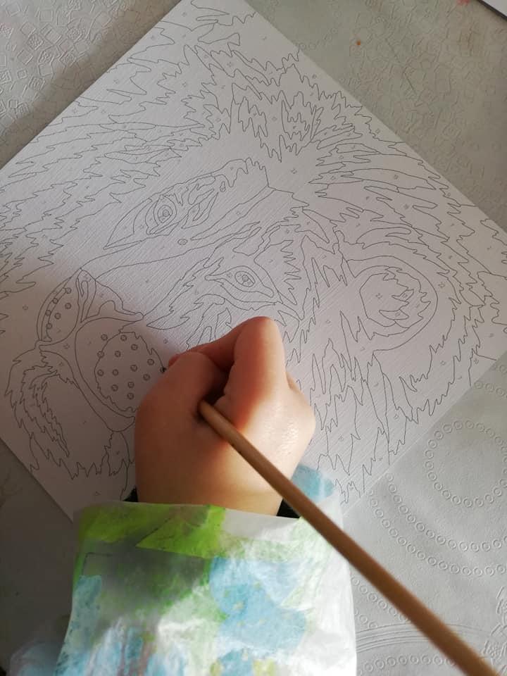 Peinture par numéros avec Sentosphère