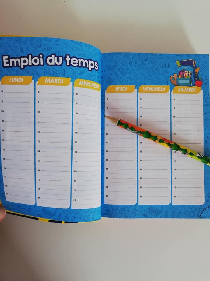 L'agenda scolaire Swan & Néo de chipie