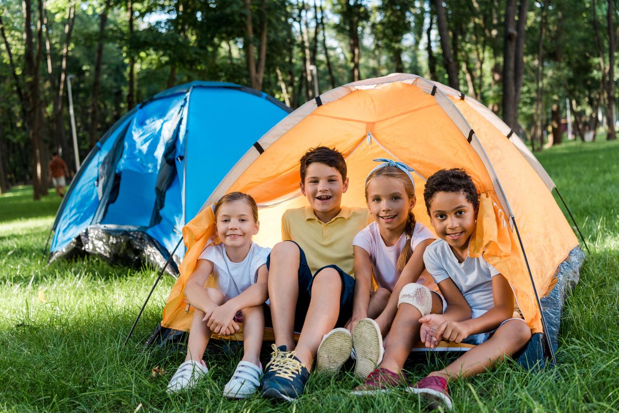 Vacances au camping, comment occuper les enfants ?