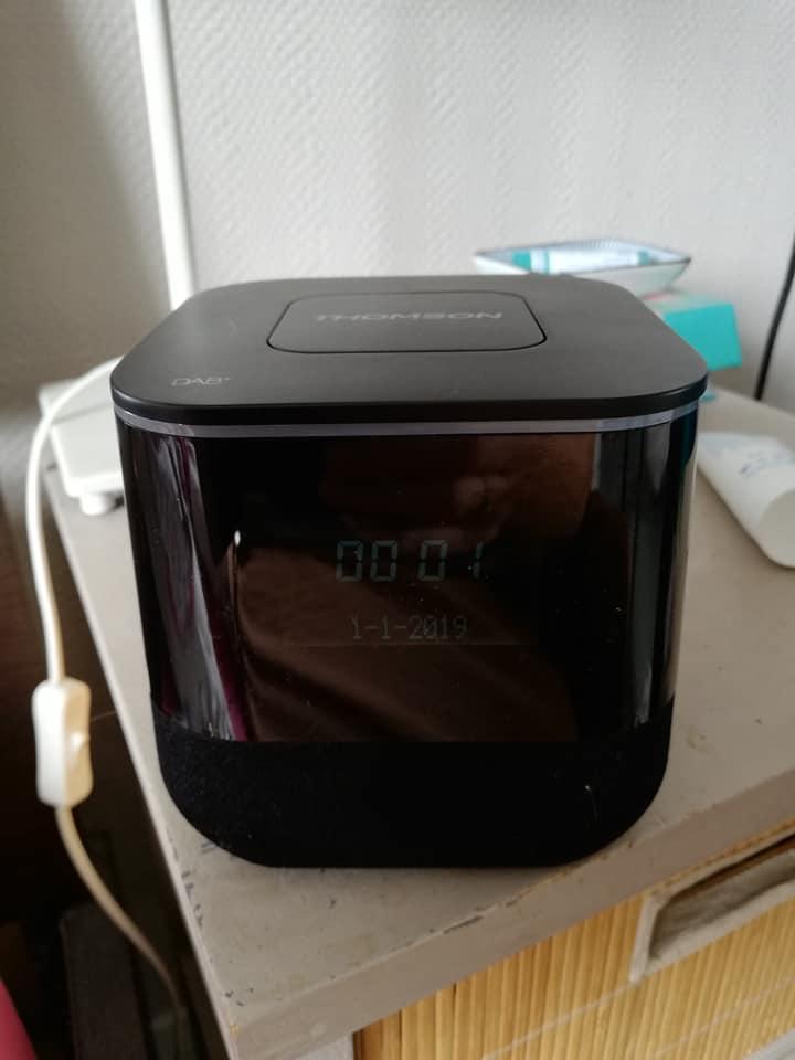 radio réveil CR80DAB