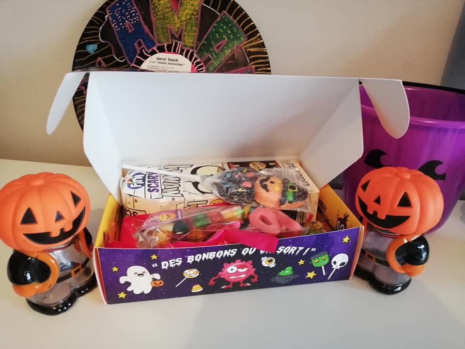 Nos gourmandises pour Halloween