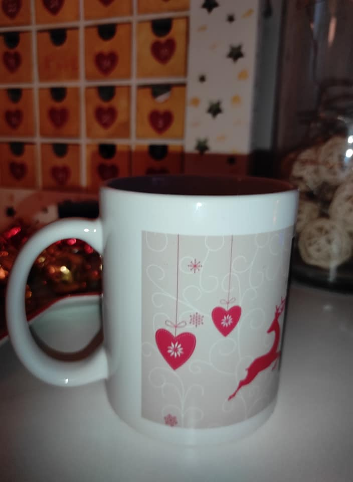 Mes objets personnalisés pour Noël.