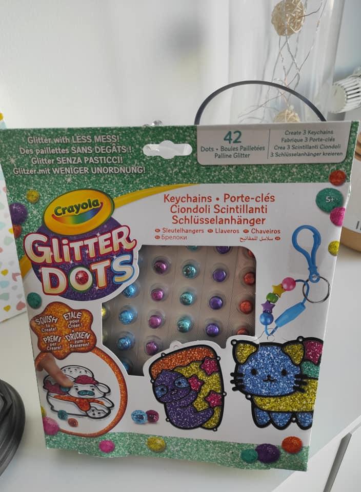 Glitter Dots, les paillettes sans se tâcher.