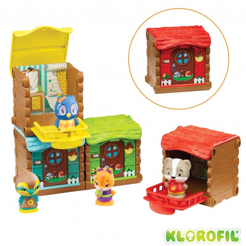 Les minis maisons surprises des Klorofil