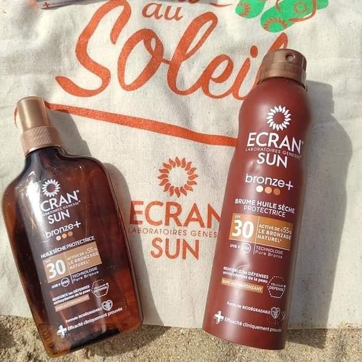 Cet été je protège ma peau avec Ecran – Laboratoire Genesse