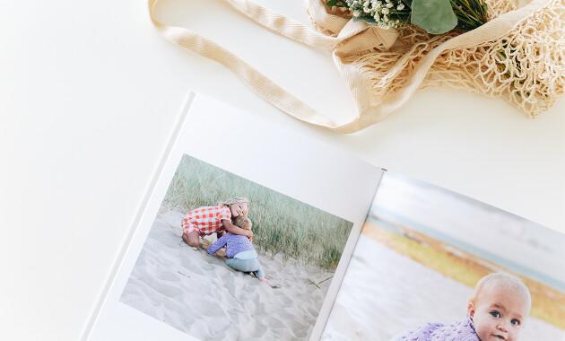 Réussir un album photo enfant