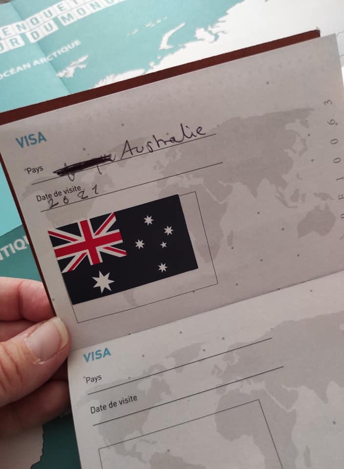Top départ pour l'Australie.